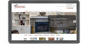 Custom Craft Contractors Website